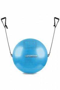 Гимнастическа топка с ластици inSPORTline 55 см