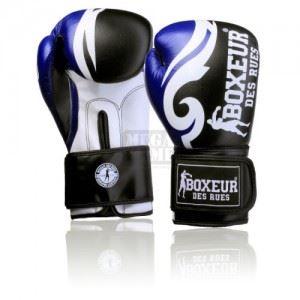 Боксови ръкавици Boxeur BXT-593 Black / Blue