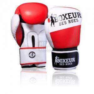 Боксови ръкавици Boxeur BXT-591 Red/White