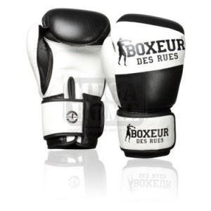 Боксови ръкавици Boxeur BXT-591 Black/White