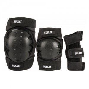 Комплект протектори Bullet Combo Standard Adult Black