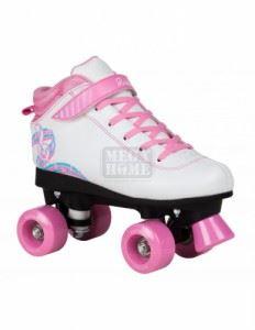 Ролкови кънки Rookie Rhythm White/Pink