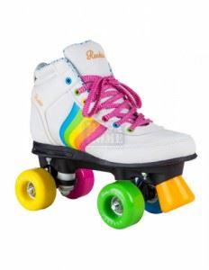Ролкови кънки Rookie Forever Rainbow V2 White/Multi