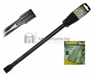 Длето с SDS-max опашка, 25 х 400 мм XLR DeWALt