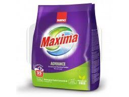 Концентриран прах за пране Sano Maxima Цветно 1.25 кг/35 пранета