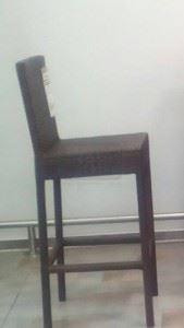 Градински стол PЕ ратан 110 х 76 х 39 см