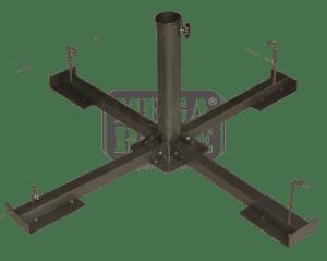 Метална стойка за чадър малка G-002