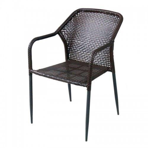 Градински стол PVC ратан San Valente 362
