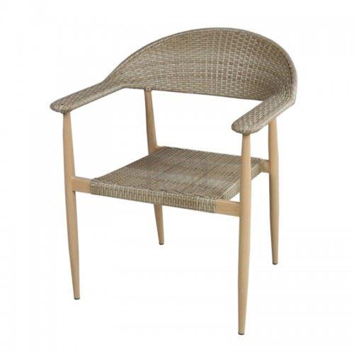 Градински стол PVC ратан San Valente 390