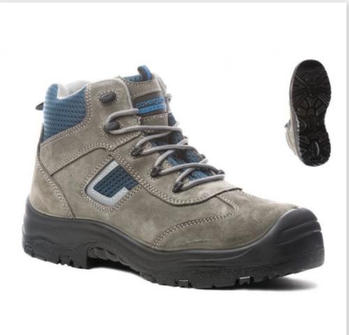 Koжени предпазни обувки Coverguard, размер 45, сиви