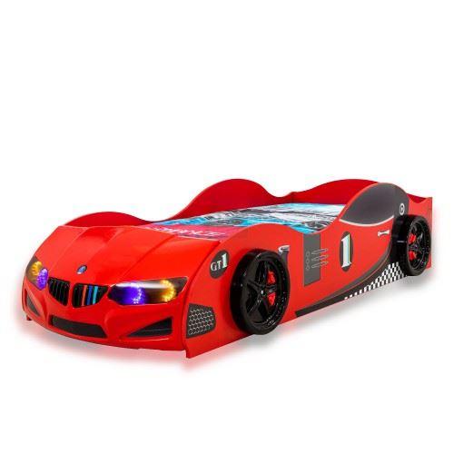 Детско легло кола GT-1 - standart 110 х 215 х 51 см
