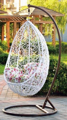 Градинска люлка от PVC ратан Swing