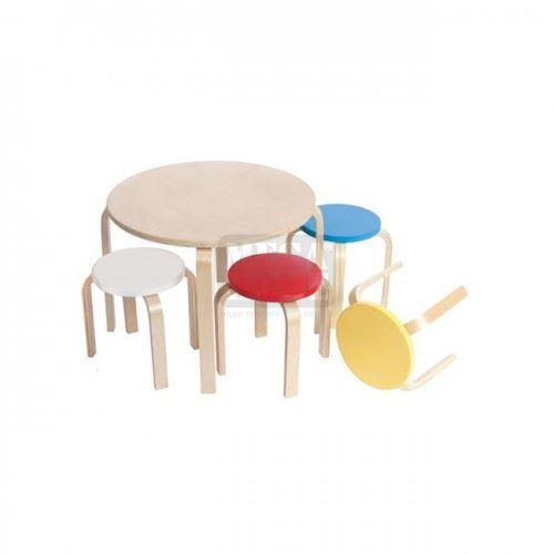 Сет детска маса с 4 стола Кид Фан