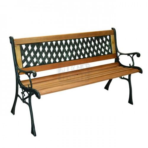 Градинска пейка Мантеми 125 х 52 х 74 см