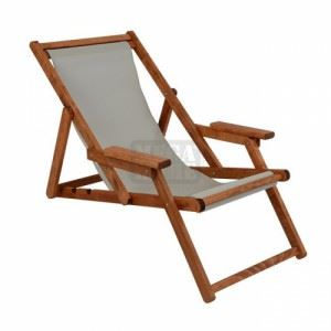 Дървен плажен стол Наксос