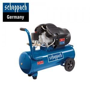 Двуцилиндров компресор HC53DC Scheppach 50 л
