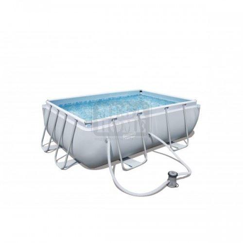 Сглобяем басейн 282 х 196 х 84 см BESTWAY с филтърна помпа