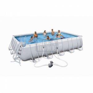 Сглобяем басейн 671 x 366 x 132 см Bestway
