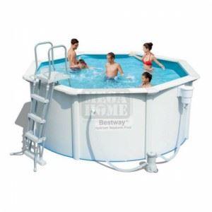 Сглобяем басейн 300 х 120 см Bestway Hydrium