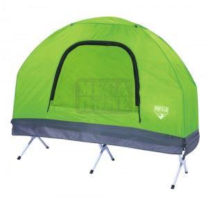 Палатка за къмпинг с походно легло и надуваем дюшек 5в1 Bestway