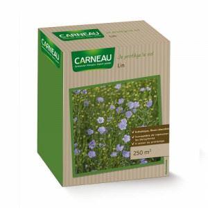 Цъфтяща цветна поляна от лечебен Лен Carneau 520 гр