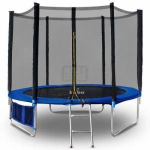 Детски батут 305 см с мрежа и стълба Buba 10FT