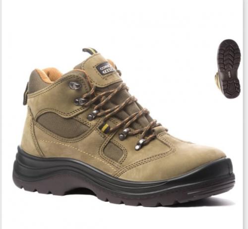 Koжени предпазни обувки Coverguard, размер 42, кафяви