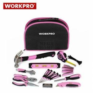 Дамски комплект с инструменти 103 части Workpro W009012