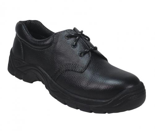 Koжени предпазни обувки Coverguard, размер 42, черни