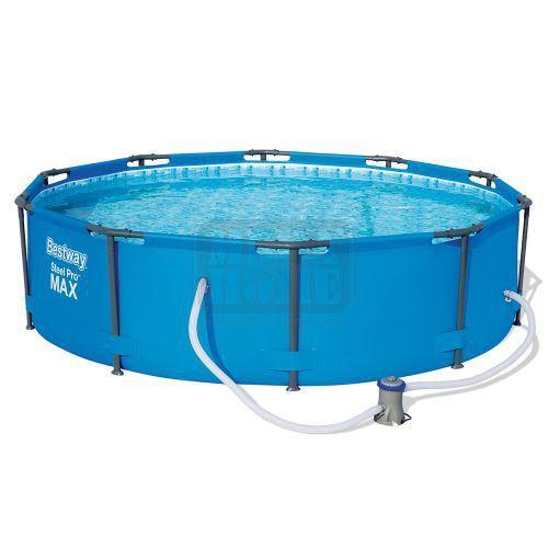 Фамилен басейн с метална рамка Bestway STEEL PRO MAX 305 х 76 см