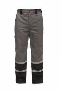 Работен летен панталон Char т. сив