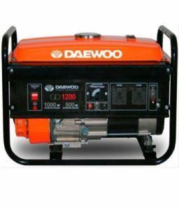 Бензинов генератор Daewoo GD1200 0.85/1.0 kW