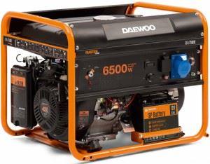 Бензинов генератор Daewoo GDA7500E 6.0/6.5 kW ел. старт