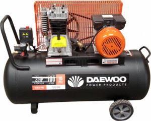 Бутален компресор Daewoo DAAC100C 3HP / 2.2 kW 100 л 8 bar