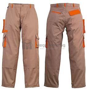 Летен работен панталон кафяв Coverguard