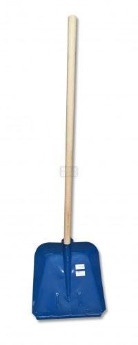 Лопата за сняг метална подсилена с дръжка Grasko
