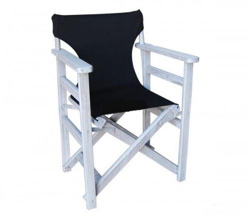 Градински стол Режисьор с дървена конструкция