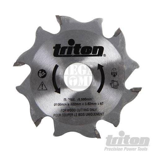 Фрезер за бисквит машина Triton TBJC 100 мм