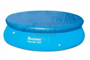Покривало с надуваем борд за кръгъл басейн 305см - Bestway