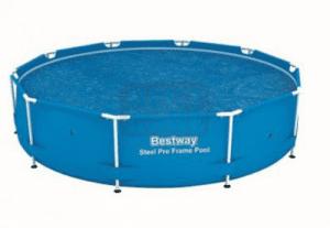 Соларно покривало за сглобяем кръгъл басейн 305см - Bestway