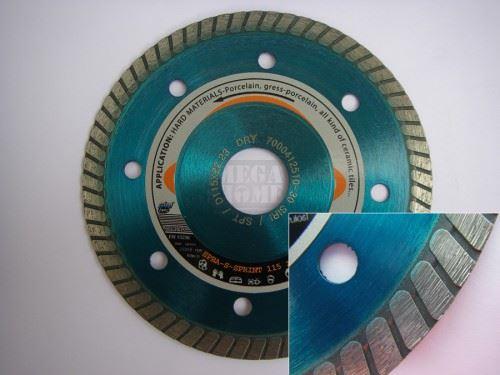 Диамантен диск усилен за твърди материали Siri SPBA сухо рязане