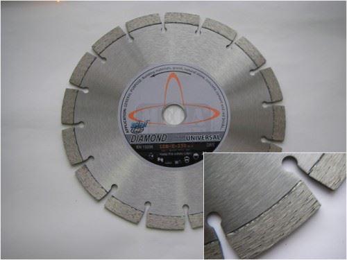 Диамантен диск за строителни материали Siri LDB сухо рязане
