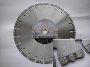 Диамантен диск за абразивни материали Siri H2x80 мокро рязане