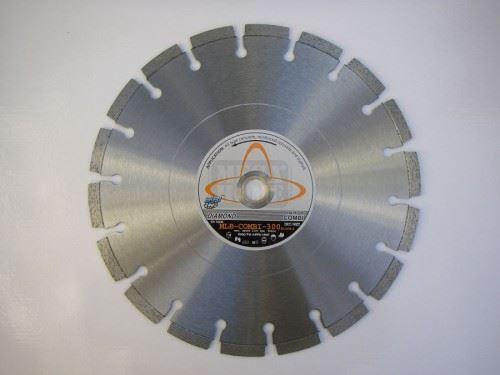 Комбиниран диамантен диск за бетон и асфалт Siri MLB COMBI-P-300