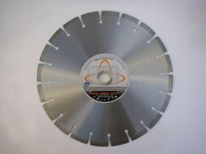 Комбиниран диамантен диск за бетон и асфалт Siri H2x20 COMBI-300
