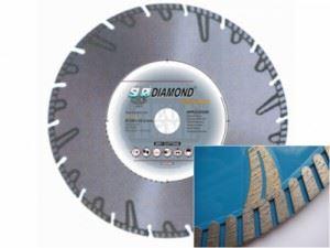 Диамантен диск за твърди и средно плътни материали Siri TDB-230
