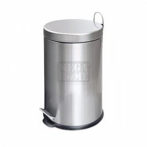 Кош за смет с педал BC 530153 12 л инокс