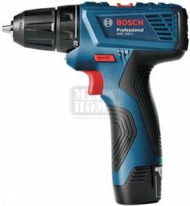 Акумулаторен винтоверт Bosch GSR 120-LI 2x1.5 Ah