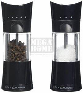Комплект мелнички за сол и пипер Cole & Mason HARROGATE 15.4 см