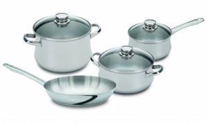 Комплект съдове за готвене Silampos Low cost I glass 7 части